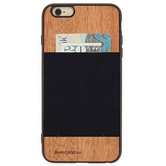 93deed75e2 jimmyCASE iPhone 6 Plus/6s Plus Wallet Case - Ultra Slim Protective Credit Card  Carrying