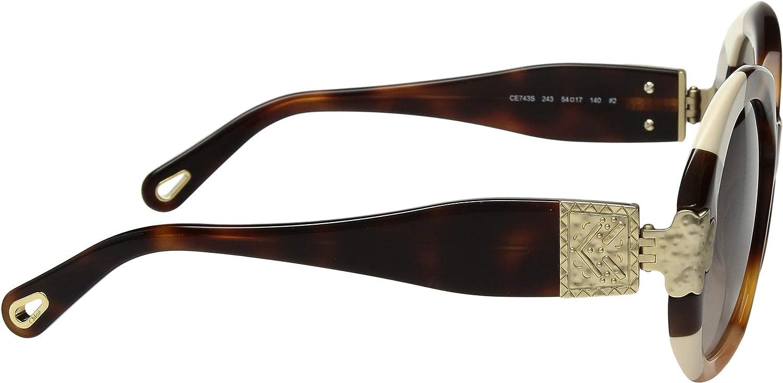Chloé Gafas de Sol VENUS CE743S DARK HAVANA/BROWN SHADED ...