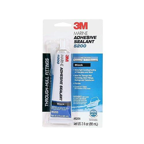 3M - 51135052051 Marine Adhesive Sealant 5200 - 3 oz - Black
