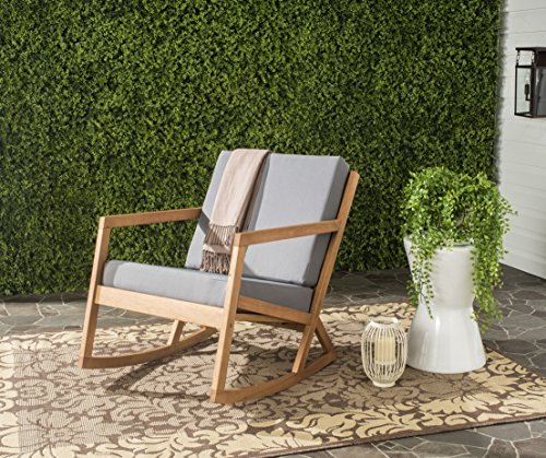 (Safavieh Outdoor Collection Vernon Rocking Chair)