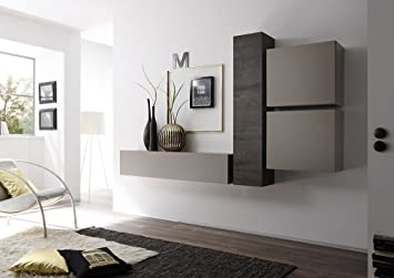 Sodani parete attrezzata mobili salotto mobili sospesi