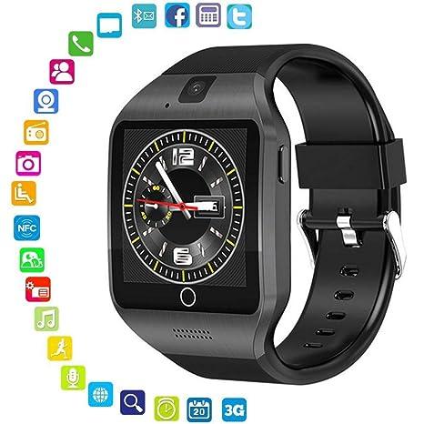 LayOPO Q18S - Reloj Inteligente con cámara HD NFC, Bluetooth ...