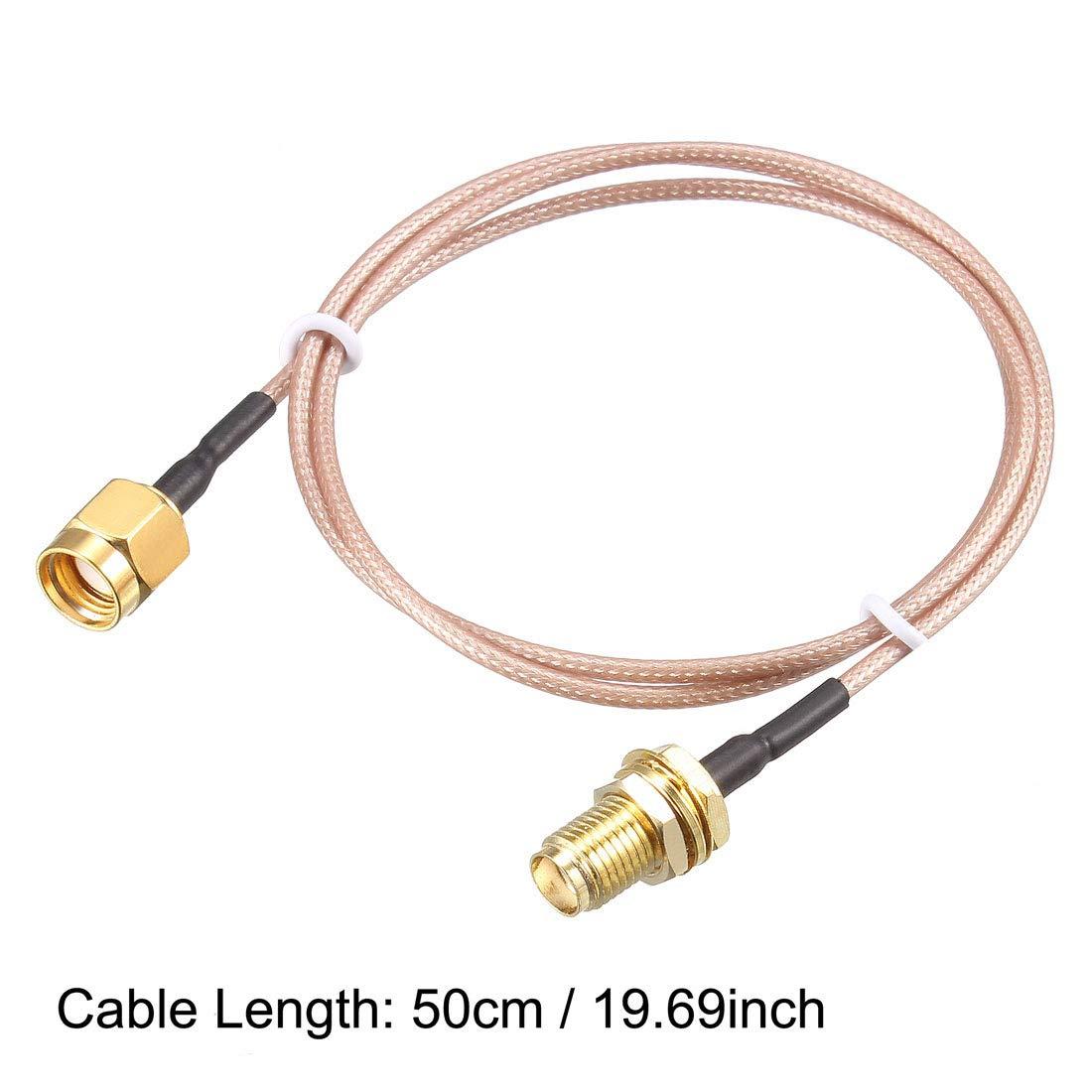 Sourcingmap RG-178 - Cable coaxial RF de Baja pérdida ...