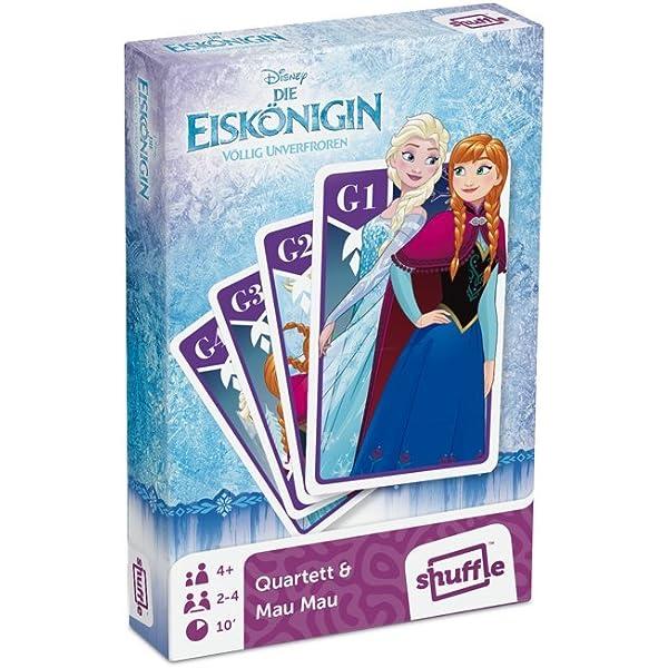 Cartamundi 22501548 - The Ice Queen Cuarteto y Juego de acción: Amazon.es: Juguetes y juegos