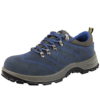 62691831ce52 Optimal Product Mens Breathable Prevention Work Shoes Electrician 6 KV  Insulated Sneakers Blue