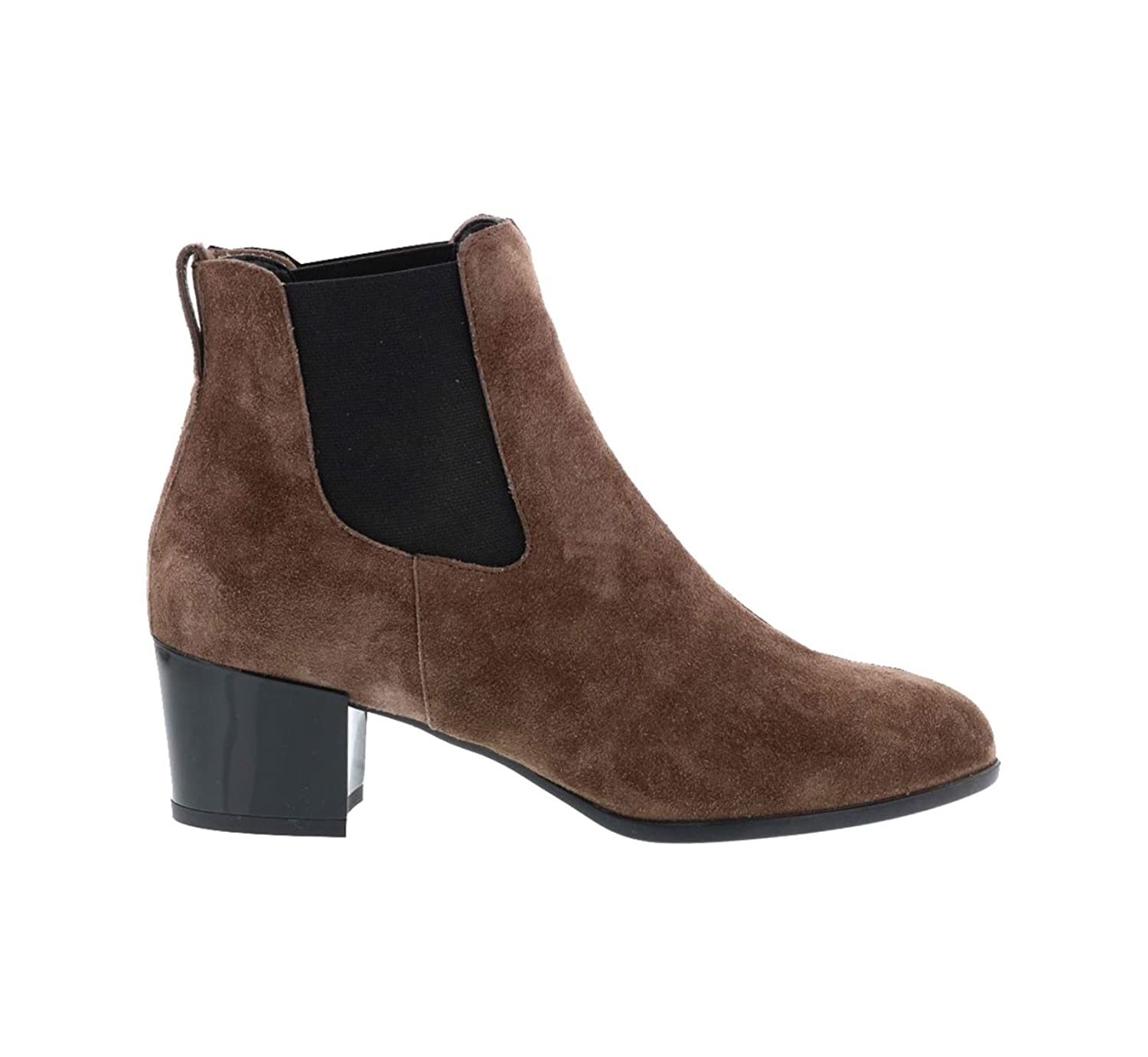 HOGAN ANKLE BOOTS IN BROWN SUEDE, Womens.