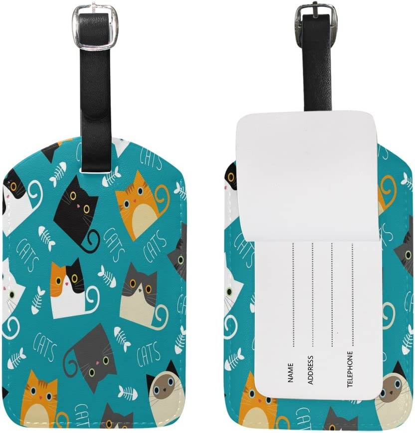 2 Pack Luggage Tags Taco Handbag Tag For Travel Bag Suitcase Accessories