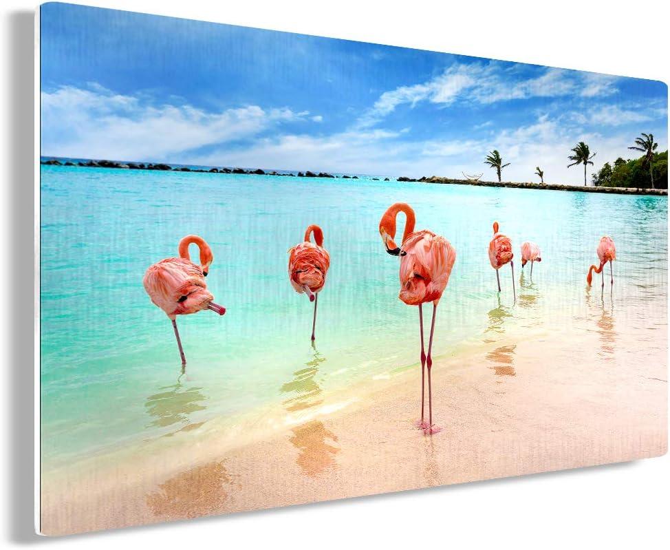 Awkward Styles Flamingo Metal Wall Art Flock Home Decor Prints 11