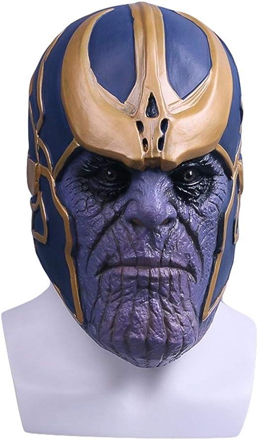 Hope Vengadores 3 Máscara de Thanos Disfraz Cosplay Máscaras de ...
