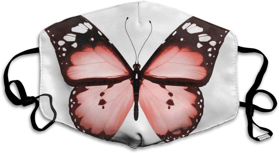 YYTT8 Gesichtsschutz Mundschutz Schmetterling Nat/ürliche Sch/önheit Tier Freigeist Fl/ügel Fl/ügel Valentinstag Liebhaber Thema
