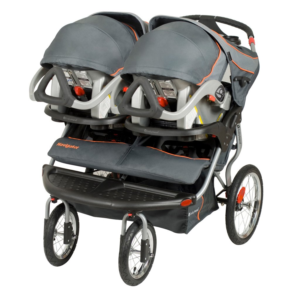 Buy Baby Trend Navigator Double Jogging Stroller Online at Low ...
