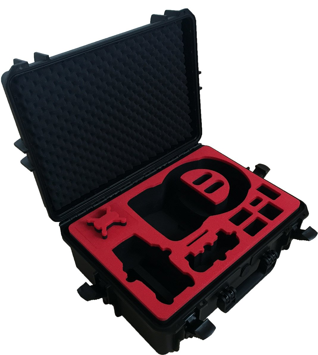 Professional Carrying Case for DJI Goggles (also racing edition) and DJI Mavic Pro and Platinum - 100% Water and dust proofed - by MC-CASES by mc-cases (Image #3)