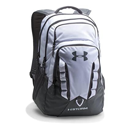 1bb12ab7fc ... Under Armour UA Storm Recruit Backpack OSFA White ...