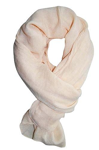 f844ef2cb040 KARL LOVEN Femme - Foulard - long - 2M20 - VISCOSE - étole - pashmina -  écharpe - cache-col Couleurs au choix (Blanc)  Amazon.fr  Vêtements et  accessoires
