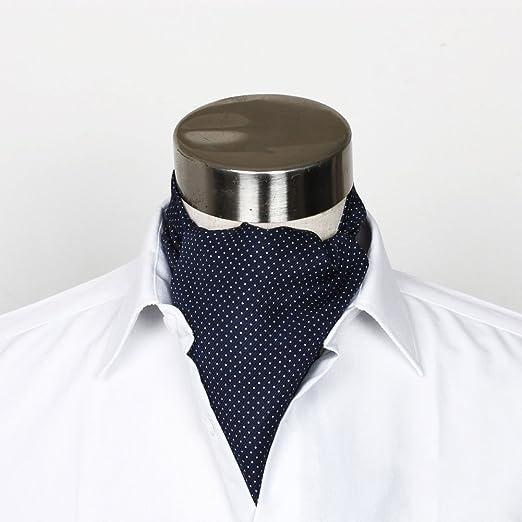 QIANGDA Seda Traje De Corbata Hombres Camisa Corbatas Bufanda ...