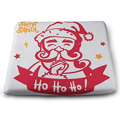 """Osvbs Santa Decorative Cushion 1.2"""" × 13.8"""" × 15.0"""" for Home Office Dinning Chair Solid Color Indoor Outdoor: Home & Kitchen"""