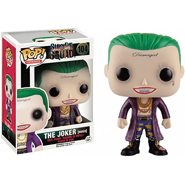 POP! Vinilo - Suicide Squad: Joker Shirtless: Funko Pop ...