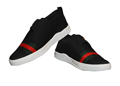 7bb88392776b Begone Men Shoes A.R Casual Black Red (9): Buy Online at Low Prices ...