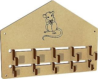 Azeeda 'Mouse Mangia Formaggio' Parete Cappotto Ganci (WH00006802)