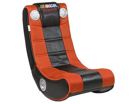 amazon com ace bayou 51233 x rocker ii gaming chair black silver