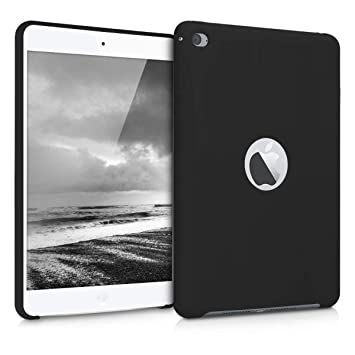 kwmobile Funda para Apple iPad Mini 4 - Carcasa de [Silicona] para Tablet - Case Trasero en [Negro Mate]
