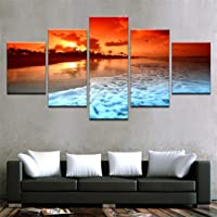 smiela Modern Frameless Canvas Painting Print Home Room Art Wall Decoration Paintings