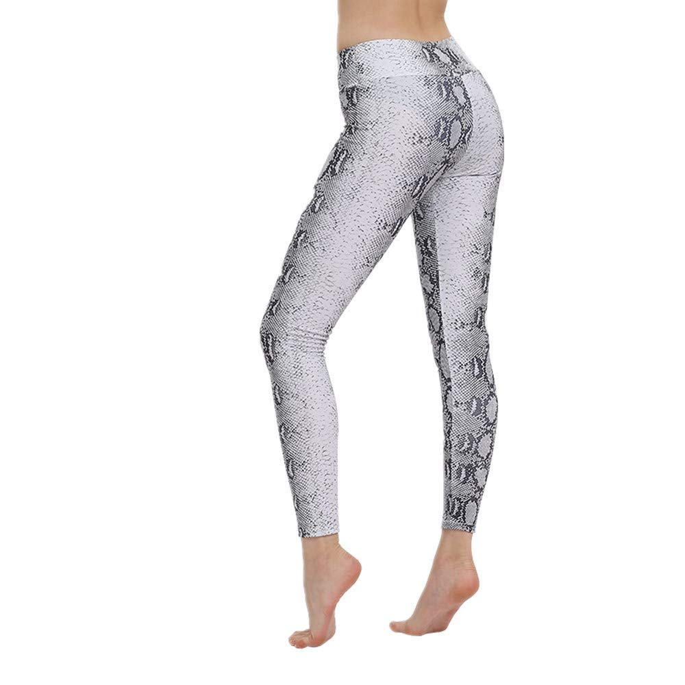 Discount Boutique Womens Gym Fitness Leggings Running Snake ...
