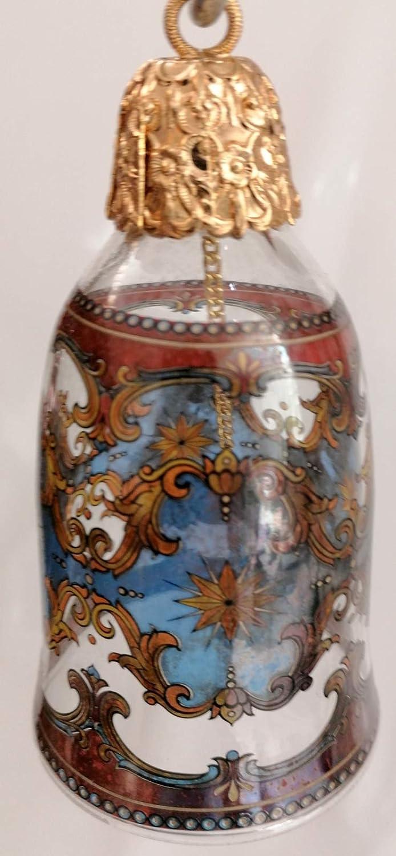 Rosenthal alte Glas Glocke classic antiker Stil Christbaum Sammler mit original Karton Motiv 1 limitierte Auflage 3333 von 3333 St/ück Durchmesser 6,5 cm H/öhe 12,5 cm