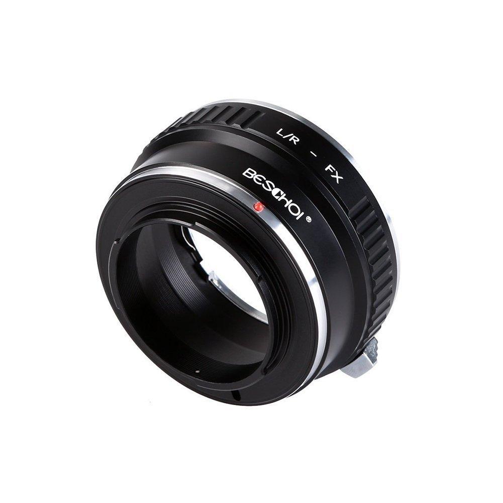 Se Adapta a Fuji X-Pro1 X-Pro2 X-E1 X-E2 X-M1 X-A1 X-A2 X-A3 X-A10 X Beschoi Adaptador de Lente para Nikon F Montura AI a Fujifilm FX Montura de Cuerpo de C/ámara de X-Series M1 X-T1 X-T2 X-T20 X30
