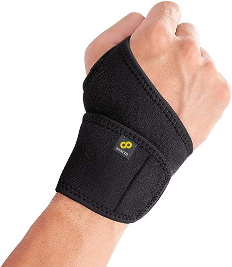 New Sports Wrist Support Band Brace Straps Wrap Carpal Tunnel Bandage Free size