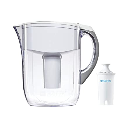 Amazon Brita 42556 Grand 80 Ounce Water Filtration Pitcher