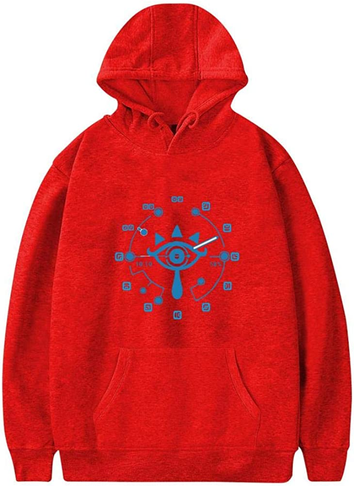 QAX-GTD Mark of Wisdom Mens 3D Printed Casual Sweater Sweatshirt with Pocket Pullover Hoodies Hooded Hat Pouch Cotton Jacket