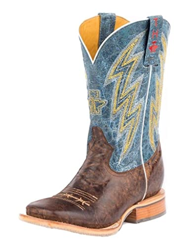 9d9cddb614c Amazon.com | Tin Haul Shoes Men's Spiky Wire Western Boot | Western