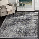Safavieh Vintage Collection VTG442G Transitional Oriental Dark Blue and Cream Distressed Area Rug (8′ x 11′) Review