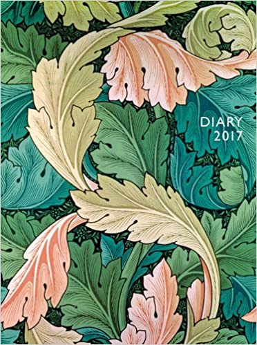 William Morris pocket diary 2017