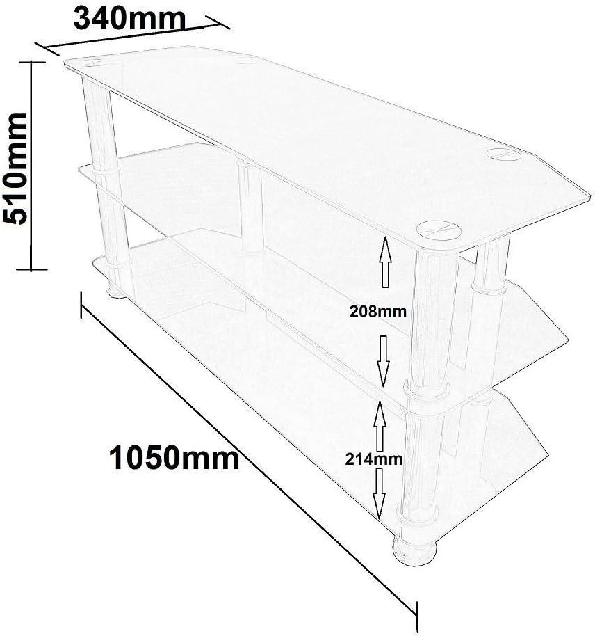 Mountright - Soporte para televisores (Cristal): Amazon.es: Electrónica