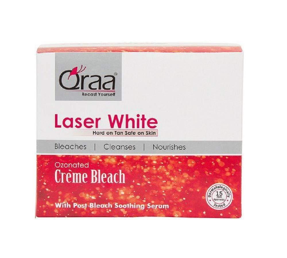 Qraa Laser White Cream Bleach (350gm) by Qraa