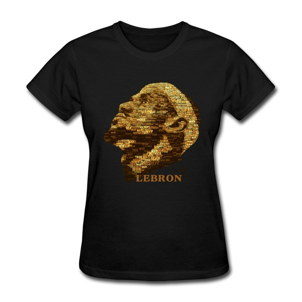 Women s T Shirt-Particular Lebron James 23  Baseketball Players Black  SizeM  Amazon.com  Books 5251eb140