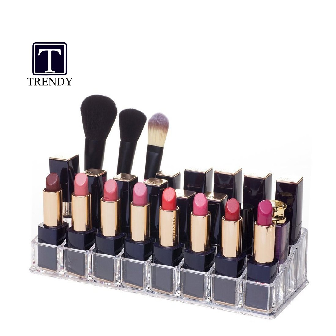 TRENDY Tnt Makeup Toiletry Kits Organizer Compatible for Storing Lipstick/Lip Gloss/Nail polish/Jewellery/Cosmetics