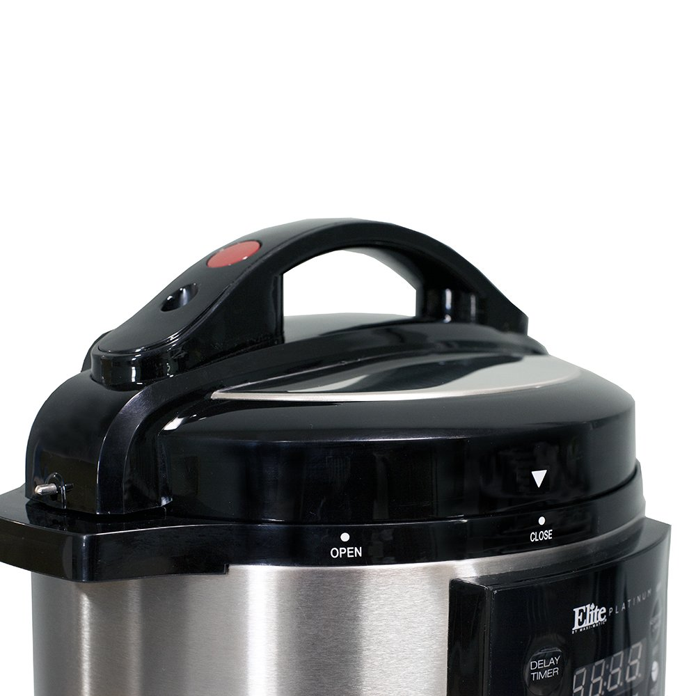 Elite Platinum EPC-414 Maxi-Matic 4 Quart Electric Pressure Cooker, Black (Stainless Steel) by Maxi-Matic (Image #2)