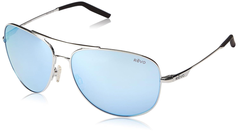 41f35a1fd64 Amazon.com  Revo Windspeed II RE 1022 03 BL Polarized Aviator Sunglasses