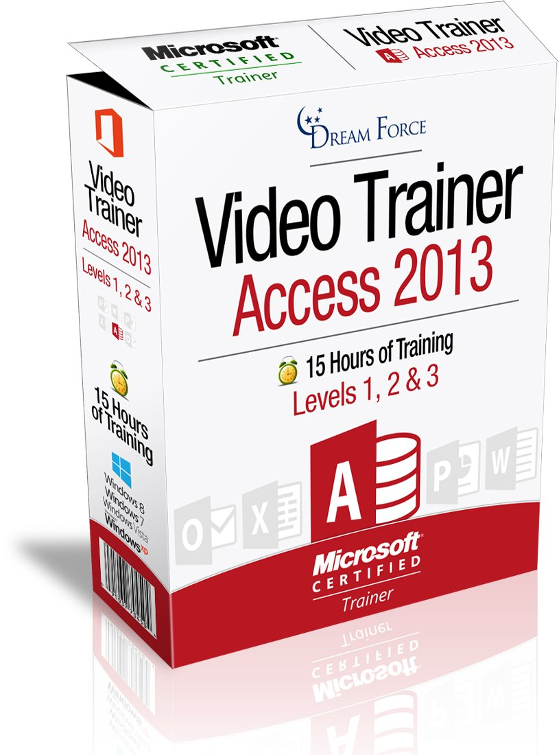Access 2013 Training Videos - 15 Hours of Access 2013 training by Microsoft Office: Specialist, Expert and Master, and Microsoft Certified Trainer (MCT), Kirt Kershaw by DreamForce LLC