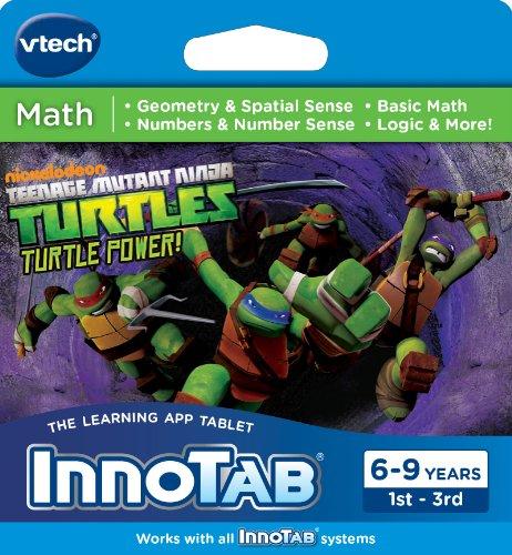 Ninja Turtle Video Games (VTech InnoTab Software, Teenage Mutant Ninja Turtles)