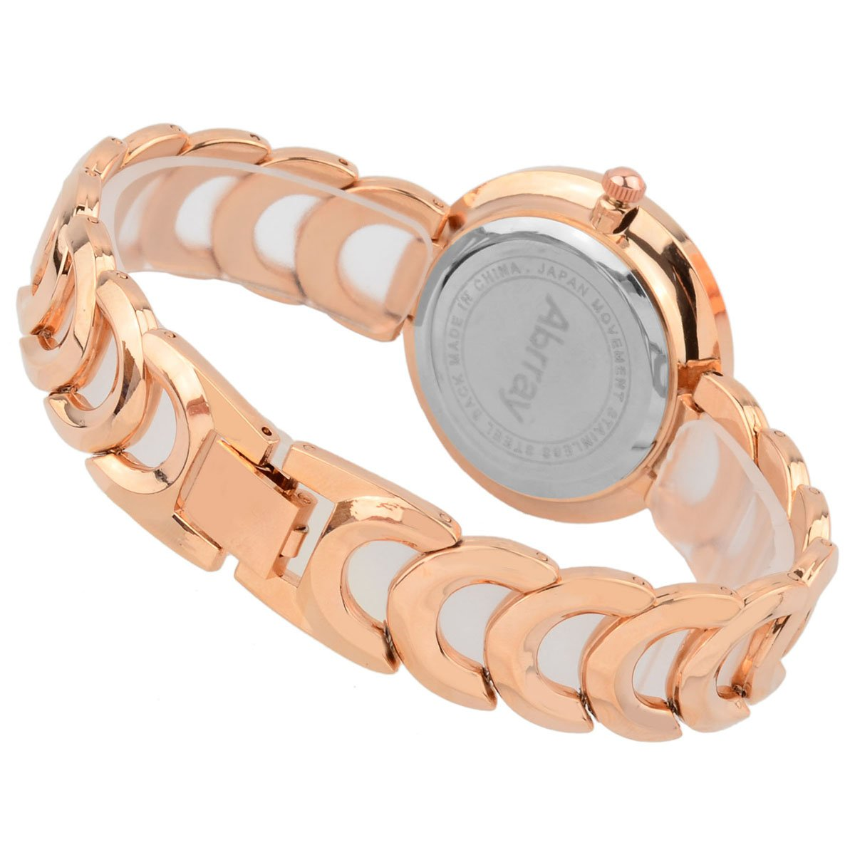 Abrray Women Watch Luxury Quartz Wrist Watches Fashion Ladies Analog Gold Bracelet