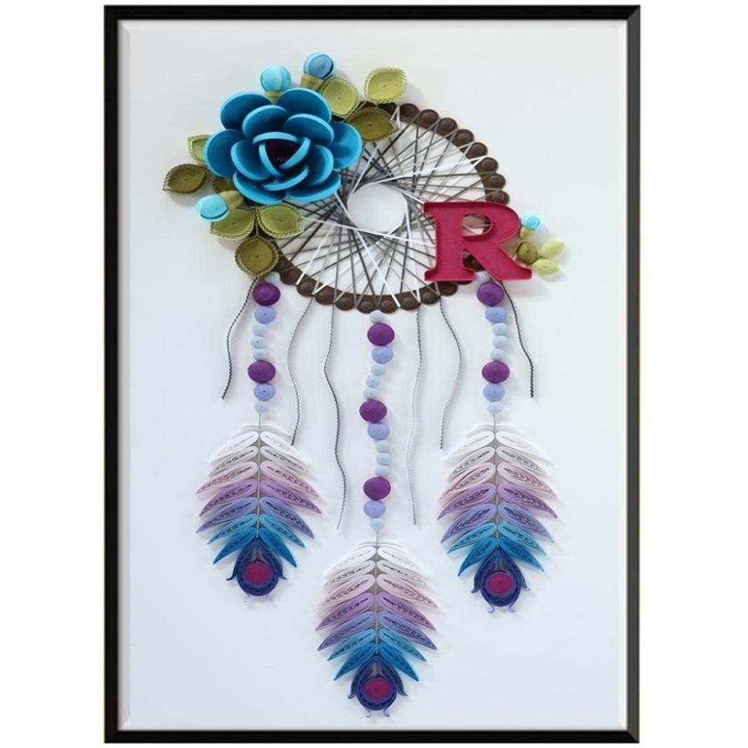 DIY 5D Diamond Painting C Staron Dream Catcher Cross Stitch Kit Crystals Painting 5D Embroidery Rhinestone Number Kits Pictures Painting Canvas Arts Wall Decor DIY Gift