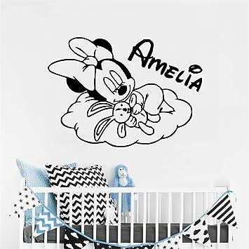 Mickey Mouse Etiqueta de La Pared Decal Sweet Dream Little Minnie ...
