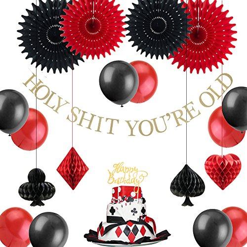 Easy Joy Las Vegas Casino Themed Birthday Party