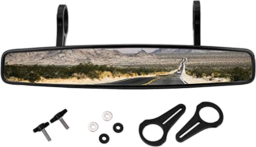 "Motor Rear View UTV Mirror /& 1.75/"" Clamp for Polaris RZR800 XP900 XP1000S MTV US"