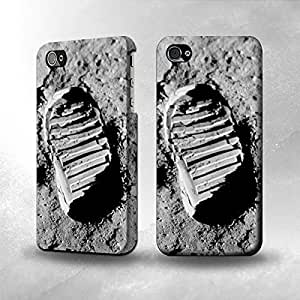 Apple iPhone 4 / 4S Case - The Best 3D Full Wrap iPhone Case - First Moon Step
