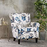 Christopher Knight Home 300437 Roseville Fabric Club Chair, Floral Print